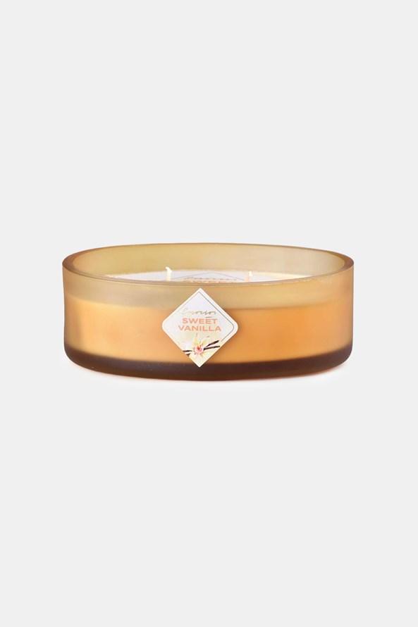 Vonná svíčka Sweet Vanilla s dvěma knoty