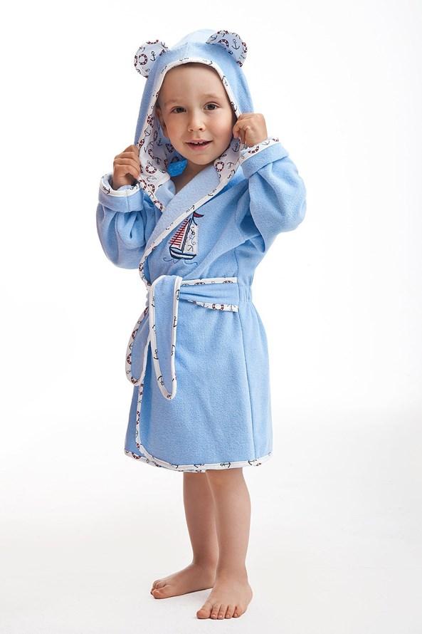 Dětský chlapecký župan Navy