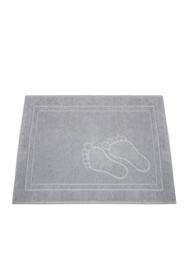 Koupelnová předložka Feet světle šedá