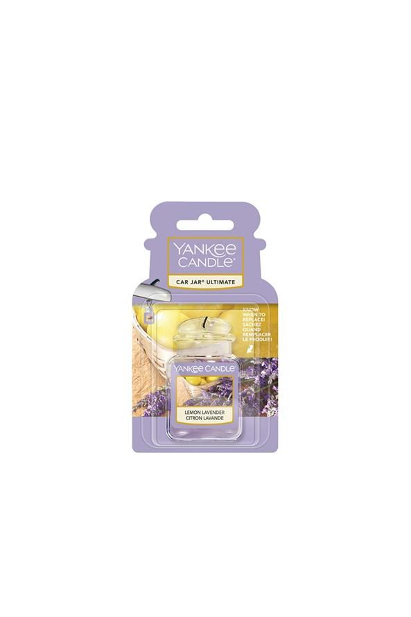 Yankee Candle Lemon Lavender gél autóillatosító