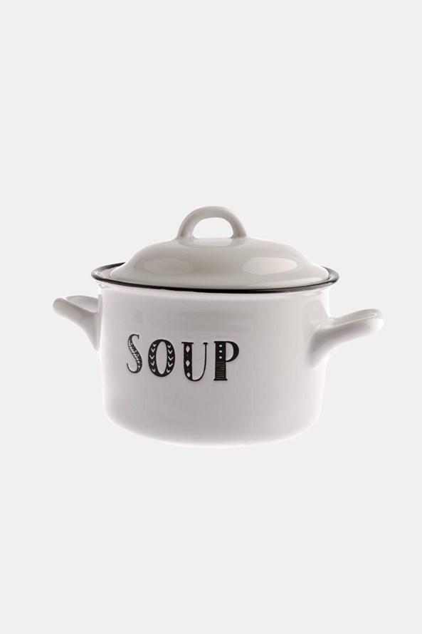Keramický hrnek na polévku