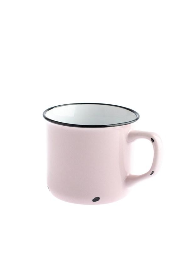 Porcelánový hrnček ružový 440 ml
