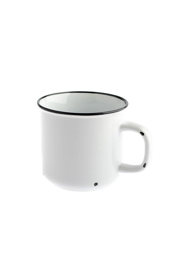 Porcelánový hrnček biely 440 ml