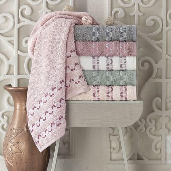 Bambusový ručník Kiara Ecru