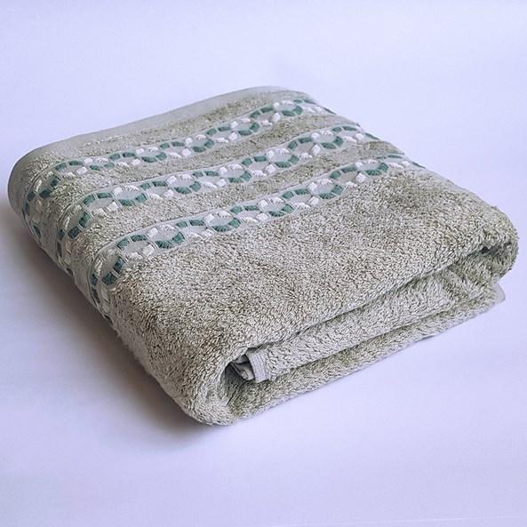 Bambusový ručník Kiara zelený