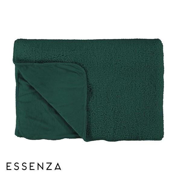 Přehoz Essenza Home Lammy zelený