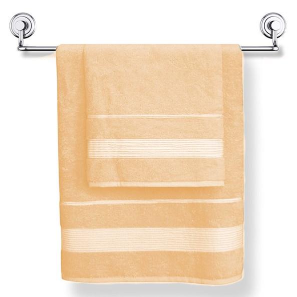 Bambusový ručník Moreno broskvový