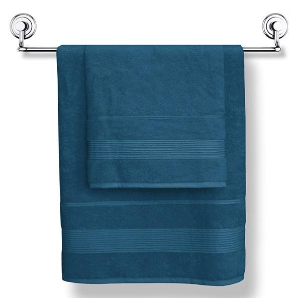 Bambusový ručník Moreno tmavěmodrý