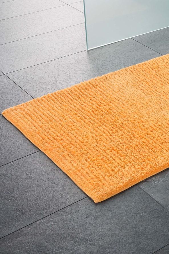 Kúpeľňová predložka Agra oranžová