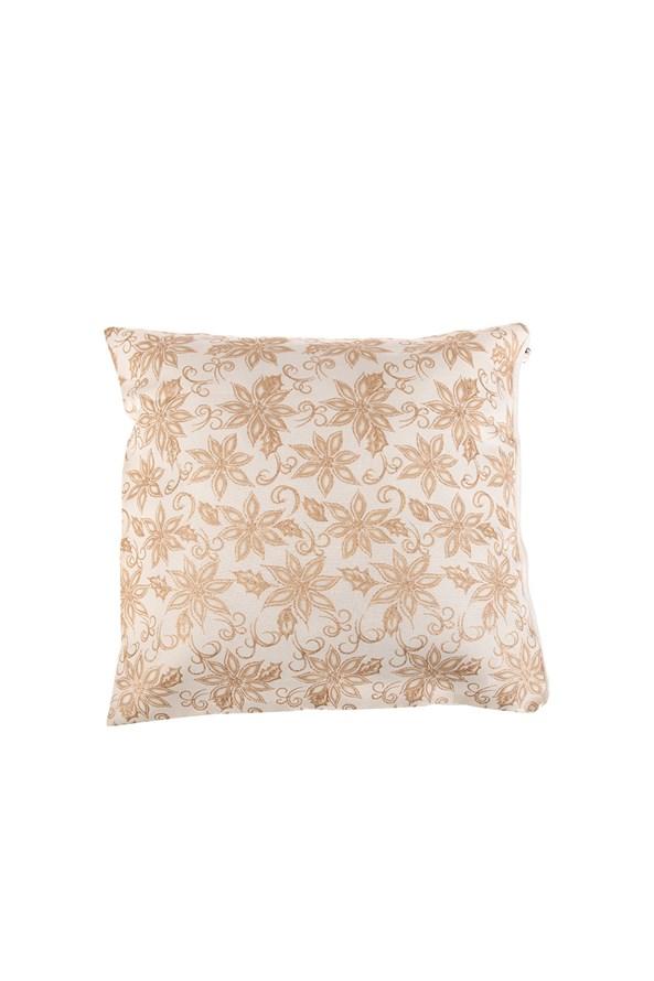 Dekoracyjna złota poszewka na poduszkę