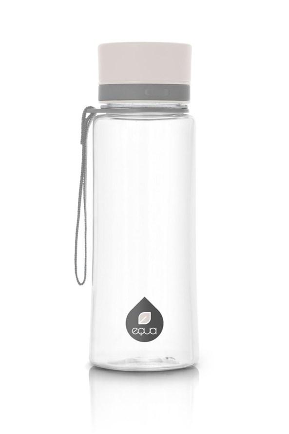 Sticla de plastic EQUA Plain White 600 ml