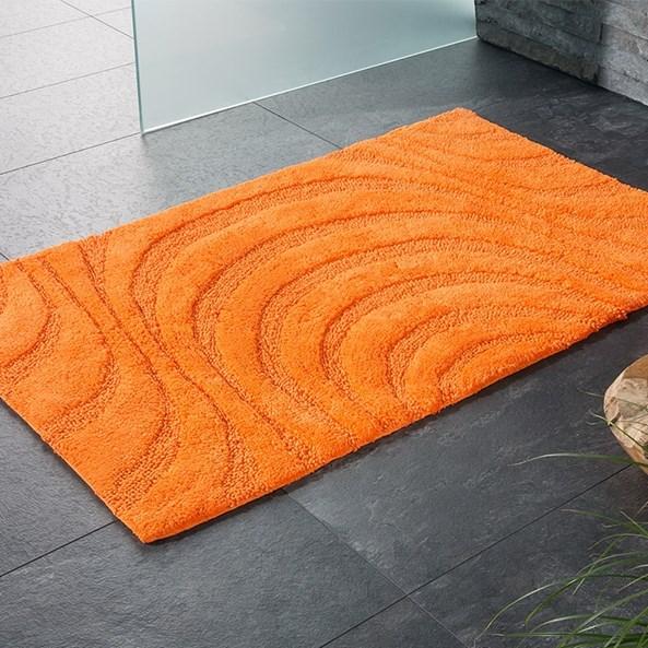 Koupelnová předložka Jaipur oranžová