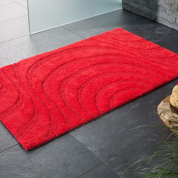 Jaipur fürdőszobai kilépő, piros