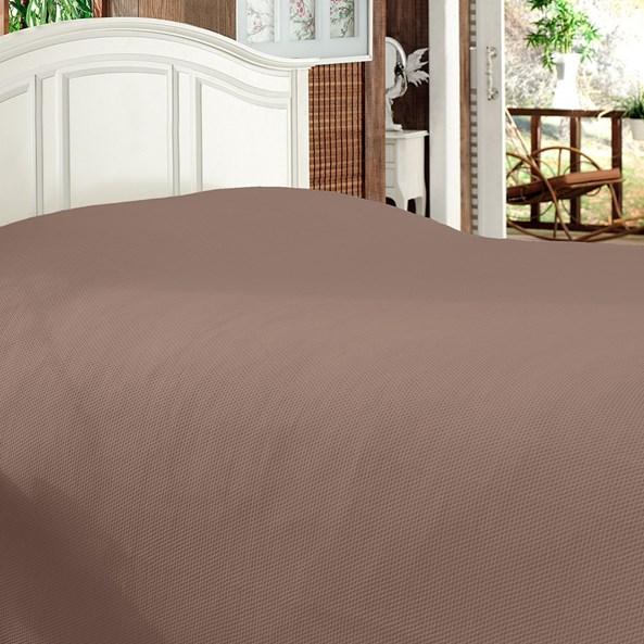 Luxusní přehoz na postel Bamboo hnědý