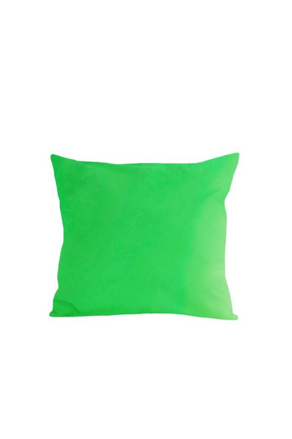 Povlak na polštářek zelený