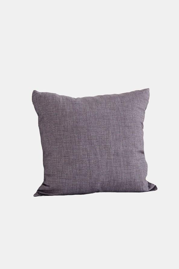 Dekorační polštář s výplní šedý