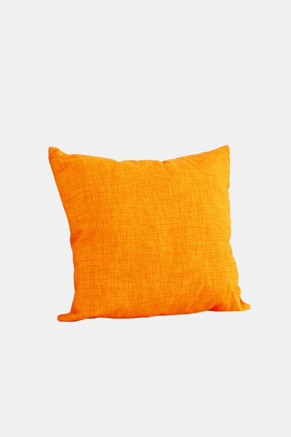 Dekoračnín polštář s výplní oranžový