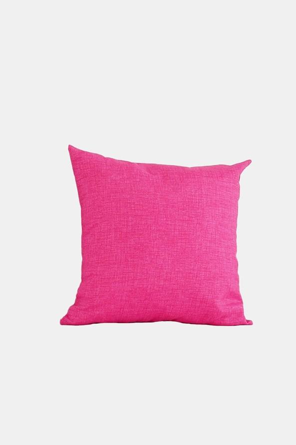 Dekorační polštář s výplní růžový
