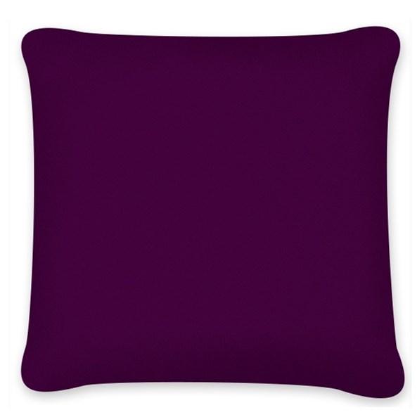 Povlak na polštářek Uni tmavě fialový