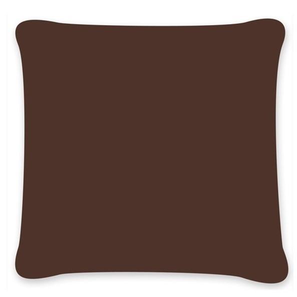 Povlak na polštářek Uni hnědý