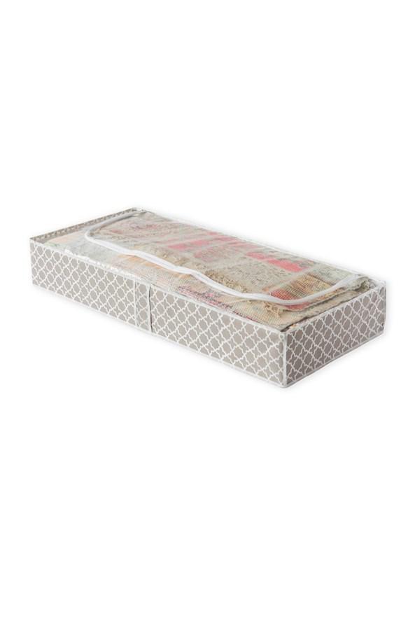 Textilní úložný box na přikrývky  Madison
