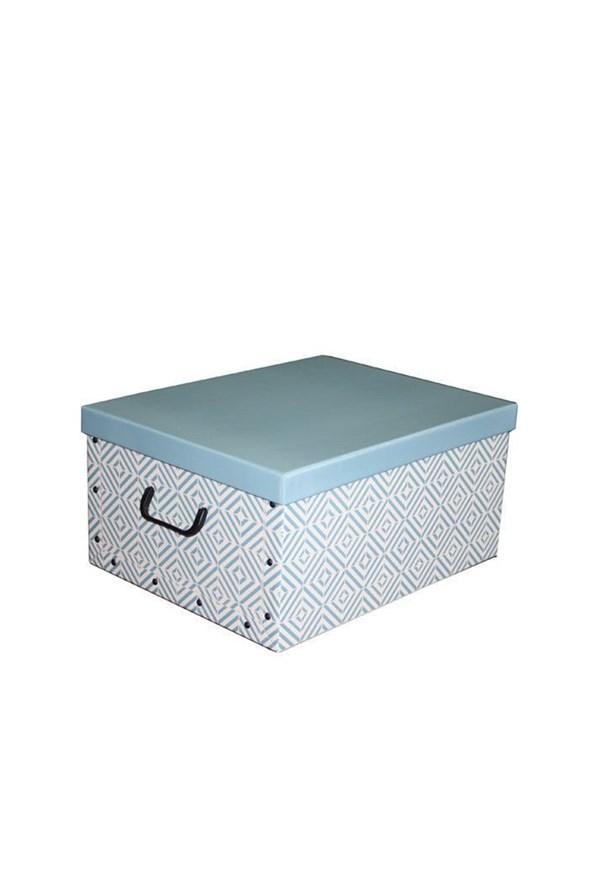 Skládací úložná krabice Nordic modrá