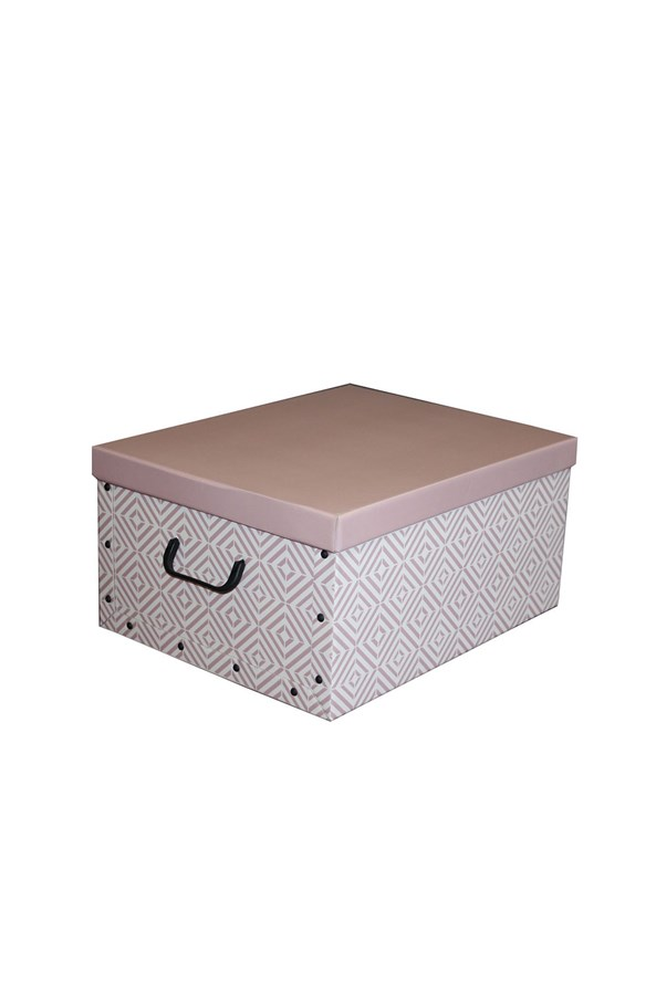 Skládací úložná krabice Nordic růžová