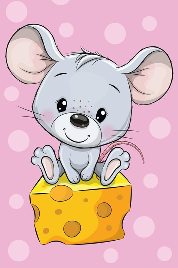 Dětský ručník Myška