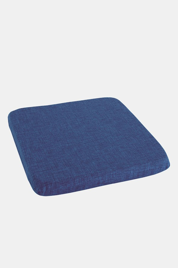 Podsedák na židli modrý
