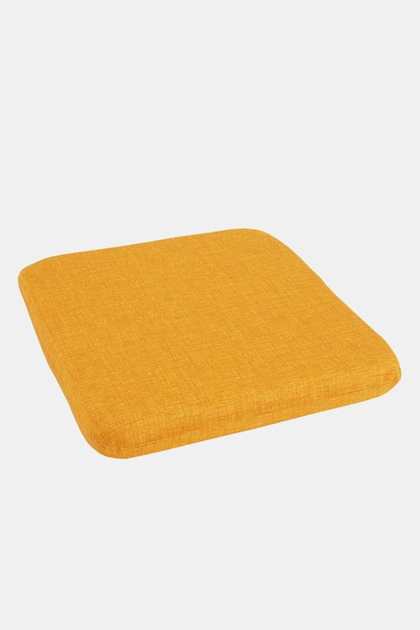 Podsedák na židli žlutý