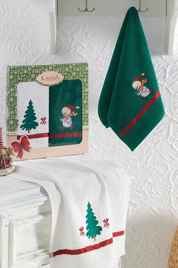 Dárková sada vánočních ručníků  Tree
