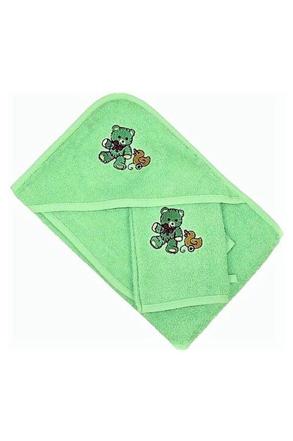 Komplet pre bábätká zelený