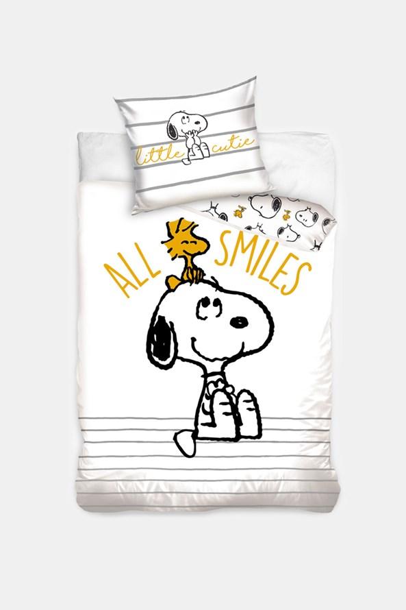 Dětské povlečení Snoopy Smile