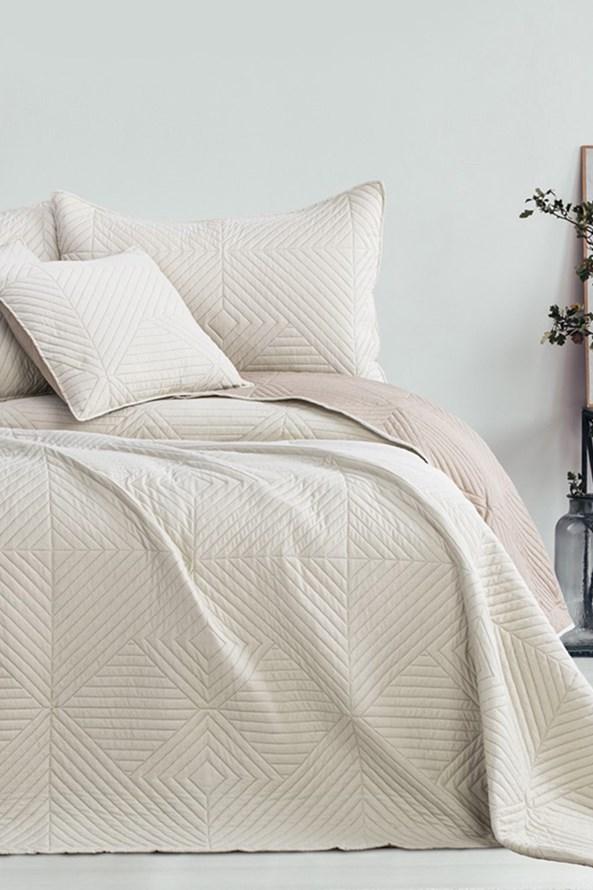 Softa ágytakaró, bézs