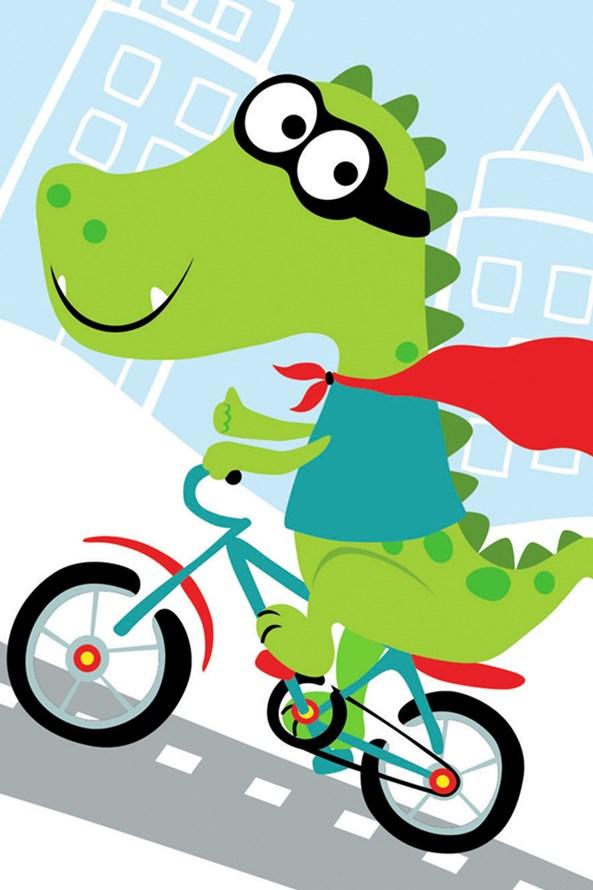 Detský uterák Krokodíl