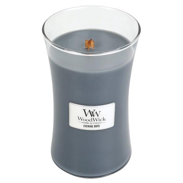 WoodWick svíčka velká Evening Onyx