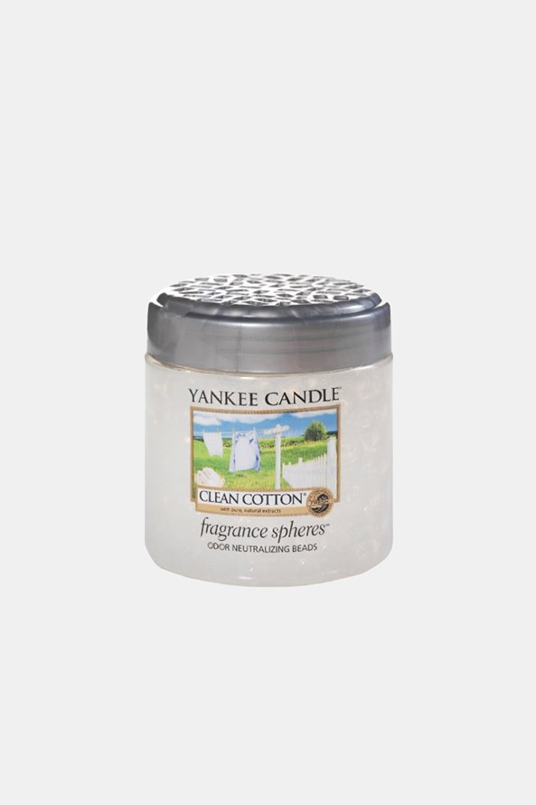 Vonné perly Yankee Candle Clean Cotton
