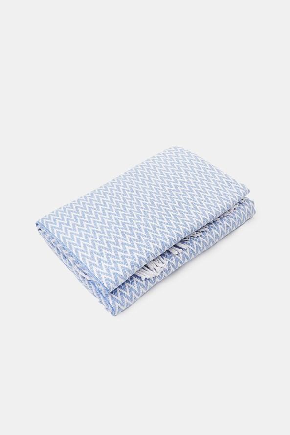 Luxusní deka Steps modrá