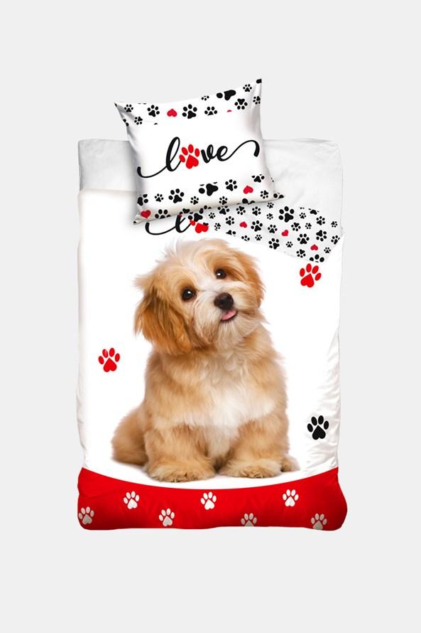 Dětské povlečení Love dogs
