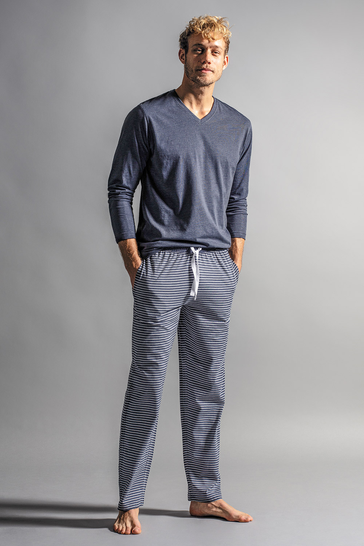 Pánské pyžamové kalhoty Melange
