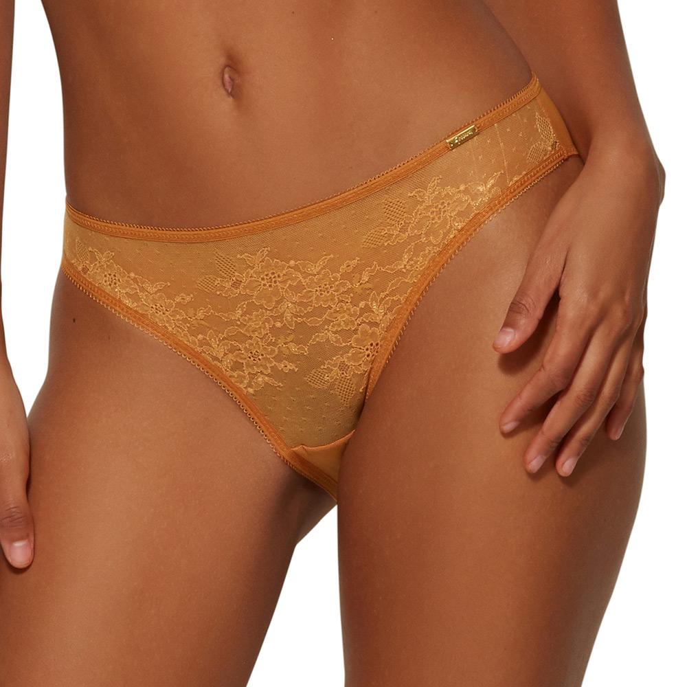 Figi Gossard Glossies Lace żółte