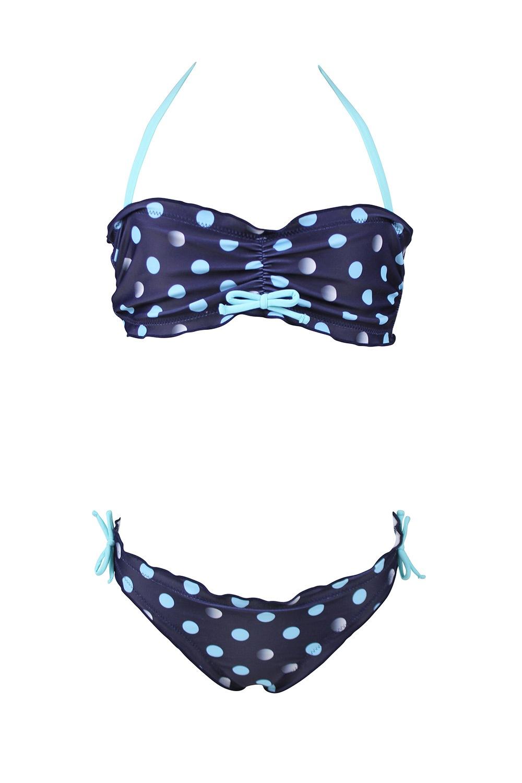 5233c48d7 Dívčí dvoudílné plavky Jane modrá 128