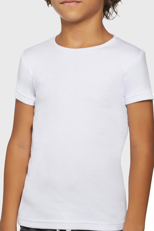 Chlapecké bavlněné tričko Simple