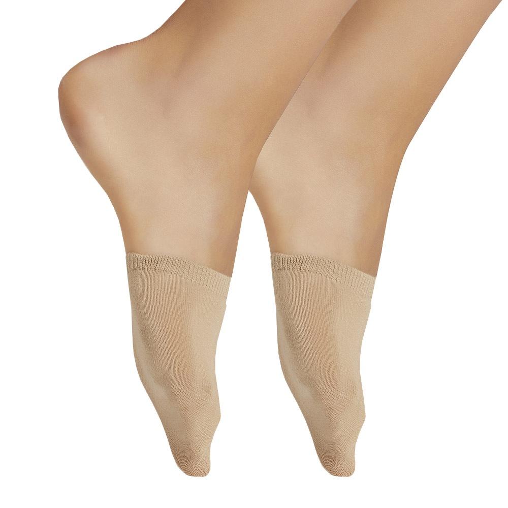 2 páry ponožek - špičky