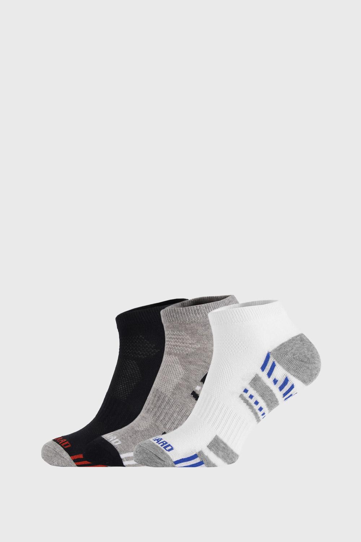 Ysabel Mora 3 PACK nízkých ponožek Sportive barevná 41-46