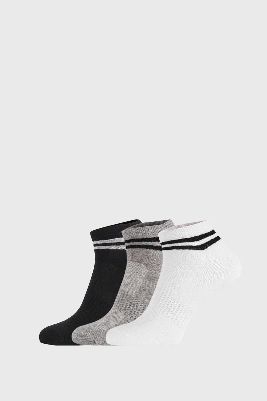 Ysabel Mora 3 PACK nízkých ponožek Grover barevná 41-46