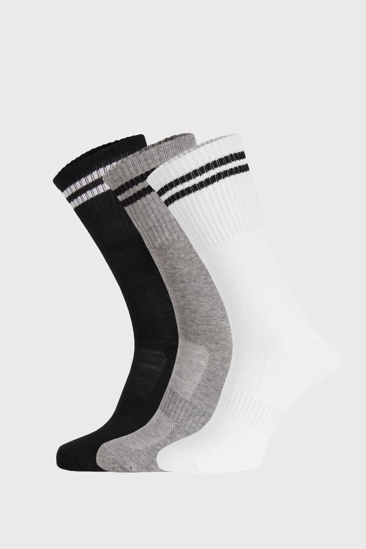 Ysabel Mora 3 PACK vysokých ponožek Grover barevná 41-46