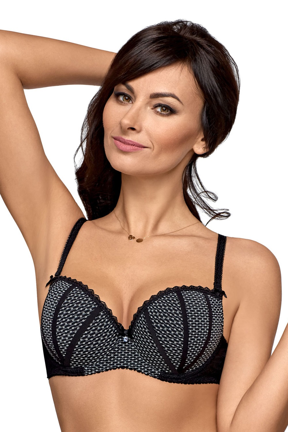Podprsenka Black Spinel Push-Up