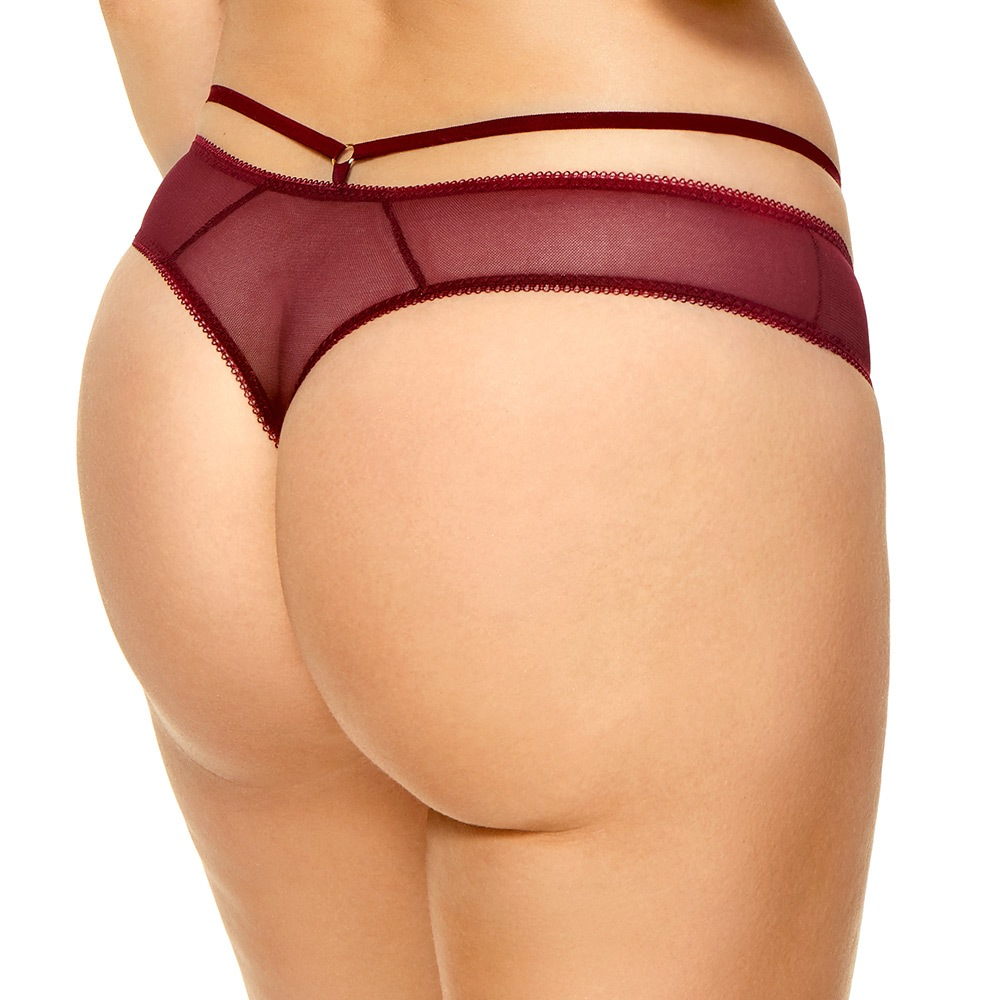 Tanga Cherry bordó
