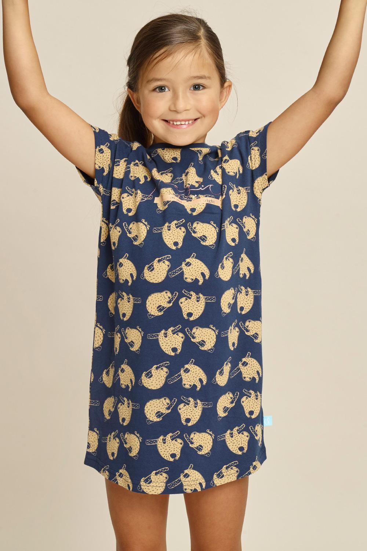 Dívčí noční košile Sloth